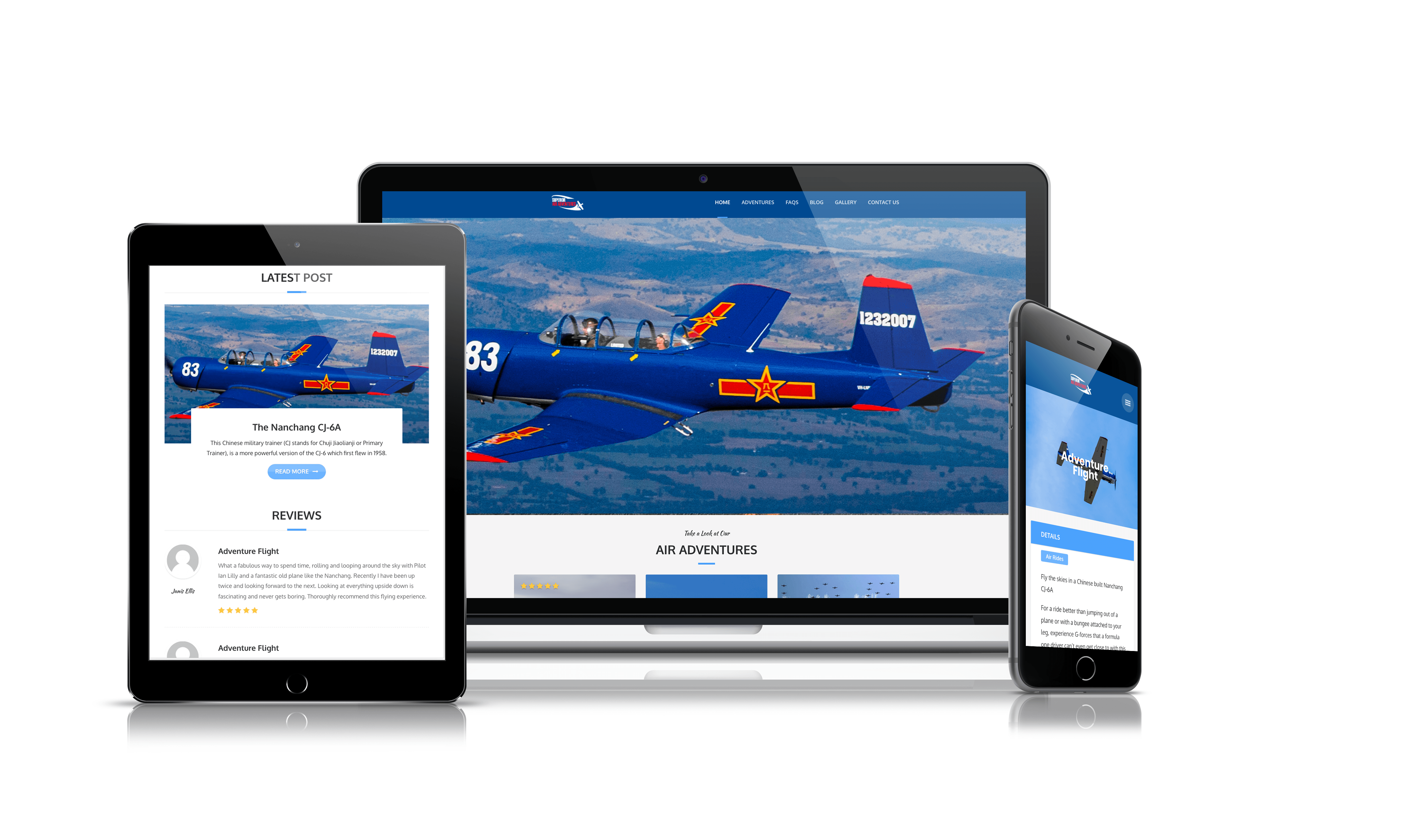 superior air adventures website